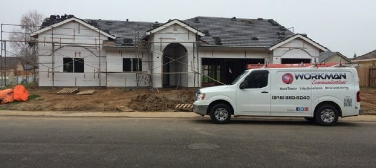 Prewire a Custom Home